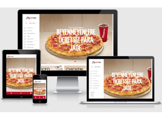 Restaurant E-Ticaret Food v3.0