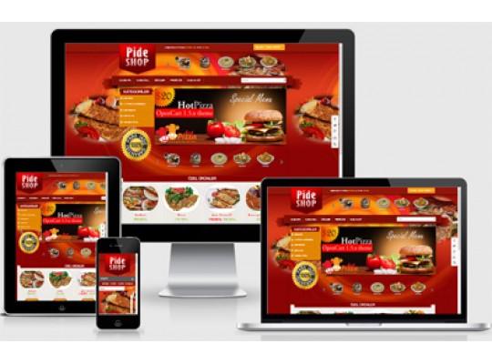 Online Yemek Siparişi E-Ticaret Paketi v2.5
