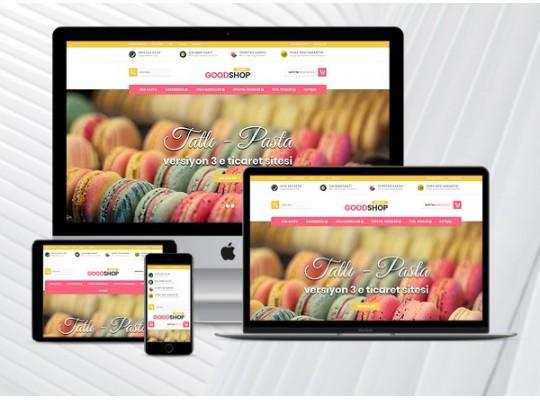 E-Ticaret Paketi Bakery v1.20
