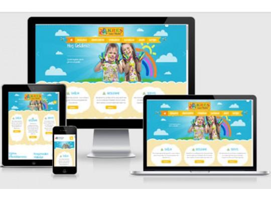 Kreş / Ana Okulu Web Paketi Kids v3.0