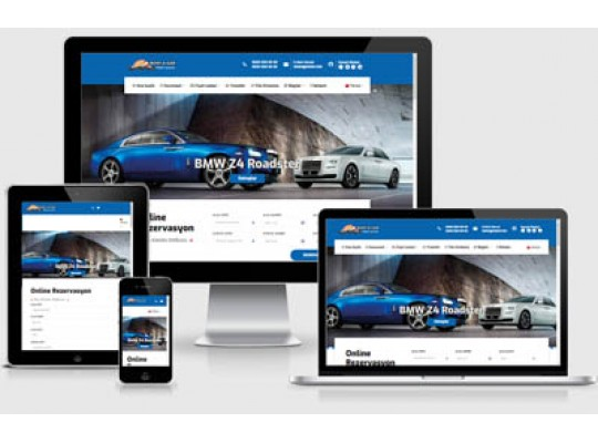 Rent A Car Web Paketi Road v3.5