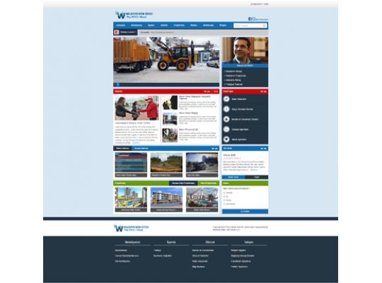 Belediye Sitesi Web Paketi v2.0
