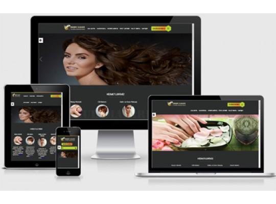 Kuaför - Güzellik Salonu Web Paketi Body v3.0